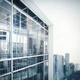 Exterior moderno do prédio de escritórios Foto de Stock Royalty Free