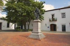 Exterior of the monument to Don Francisco Billini in Santo Domingo, Dominican Republic. Royalty Free Stock Image