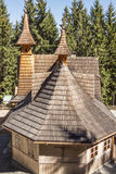 Exterior of Mother of God Tatras Queen Sanctuary - Royalty Free Stock Image