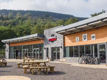 Exterior of Mountain Bike Park Wales Royalty Free Stock Image