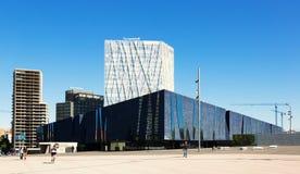 Exterior of  Museu Blau in Barcelona Stock Photo
