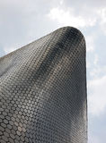 Exterior of Museum Soumaya, Mexico City, Mexico. Exterior of the Museum Soumaya in Mexico City, Mexico against cloudy skies Royalty Free Stock Photos