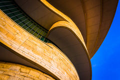 Exterior of the National Museum of the American Indian, in Washi Royalty Free Stock Photos
