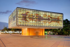 Exterior of National Young Arts Foundation Building / Bacardi He Royalty Free Stock Photo
