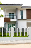 Exterior new Townhome or Townhouse. Business concept Stock Photography