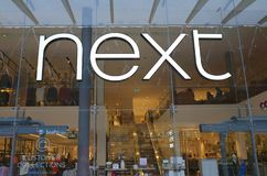Exterior of the Next retail store in Bracknell, England Royalty Free Stock Photo