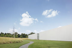 Exterior of North Carolina Museum of Art Royalty Free Stock Photo