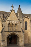Exterior of Notre Dame la Grande church in Poitiers Royalty Free Stock Photo