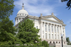 Exterior of Oklahoma state capitol building Royalty Free Stock Images