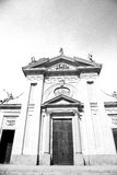 Exterior old architecture in italy europe milan religion Stock Image
