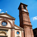 Exterior old architecture in italy europe milan religion Royalty Free Stock Photo