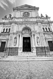 Exterior old architecture in italy europe milan religion Stock Photography