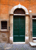 Exterior of the old door Royalty Free Stock Photography
