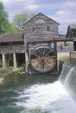 Exterior of old mill in  Pidgeon Fork, TN Royalty Free Stock Photo
