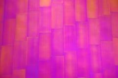 Exterior púrpura del edificio del metal Fotos de archivo libres de regalías