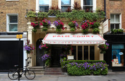 The exterior of Palm Court brasserie in Covent Garden ,London, United Kingdom. Stock Photo