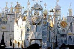 Exterior panels of It's a Small World, Disneyland Fantasyland, Anaheim, California Royalty Free Stock Photography