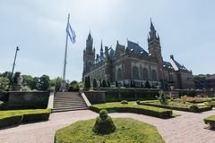 Exterior peace palace united nations ICJ UN