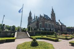 Exterior peace palace united nations ICJ UN