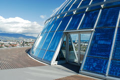 Exterior of the Perlan, Reykjavik, Iceland Royalty Free Stock Photos