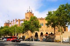 Exterior of The Plaza Monumental de Barcelona Stock Photos