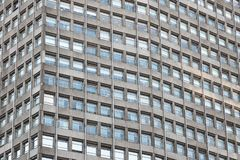 Exterior of Portland House skyscraper with concrete and glass in London royalty free stock photos
