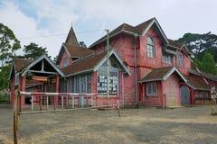Exterior of the post office building in Nuwara Eliya, Sri Lanka. Stock Images