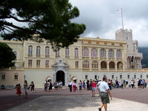 Exterior of Princes Palace in Monte Carlo Monaco Royalty Free Stock Photography