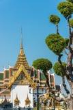 Exterior of Rajakaranya Sapha Hall in Grand Palace, Bangkok, Tha Stock Image