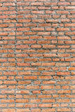 Exterior red brick wall stucco background, under construction co Royalty Free Stock Image