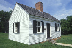 Exterior of Red Hill. Patrick Henry's last home, Virginia Royalty Free Stock Images