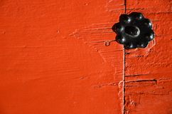 Exterior red wooden plank Royalty Free Stock Image