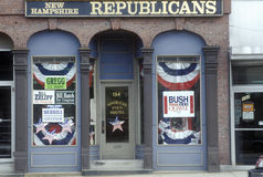 Exterior of Republican State Headquarters Stock Images