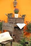 Exterior romántico de la granja casera del provance imagen de archivo libre de regalías