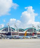 Exterior Sabiha Gokcen International Airport Stock Image
