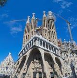 Exterior of Sagrada Familia Royalty Free Stock Photography