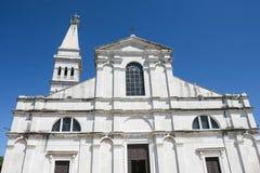 Exterior of Saint Euphemia church Stock Photo