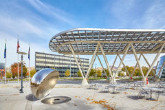 Exterior of the Salt Lake City Public Safety Building. Royalty Free Stock Image