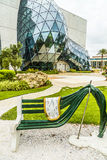 Exterior of Salvador Dali Museum in St. Petersburg Stock Photography