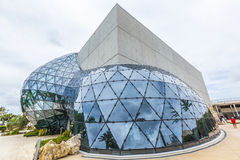Exterior of Salvador Dali Museum in St. Petersburg Royalty Free Stock Photos