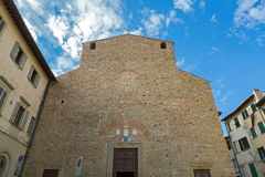 Exterior of San Paolo Apostolo (San Paolino), Roman Catholic chu Stock Photo