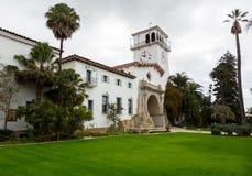 Exterior Santa Barbara Courthouse California Royalty Free Stock Image