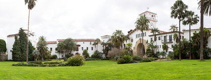 Exterior Santa Barbara Courthouse California Royalty Free Stock Image