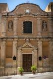 Exterior of Santa Rosalia church at Cagliari, Sardinia Stock Photography