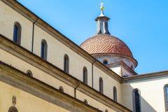 Exterior of Santo Spirito, a church located in the Oltrarno quar Stock Images