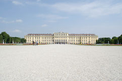 Exterior of Schonbrunn Palace, Vienna, Austria Stock Photo