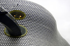Exterior of shopping mall. Modern Architectural Marvel - Exterior of shopping mall in Birmingham, England Stock Image