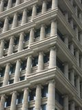 Exterior Shot of Columns on Side of Building Stock Photos