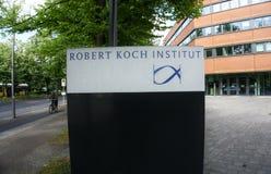 Exterior shot of the Robert Koch Institute in Berlin-Wedding.