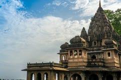 Exterior shots of Ahilya fort Maheshwar Royalty Free Stock Photos